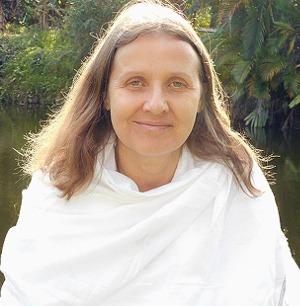 Portrait de Yogacharya Claudia Cremers
