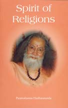 Couverture du livre de Paramahamsa Hariharananda Spirit of Religions