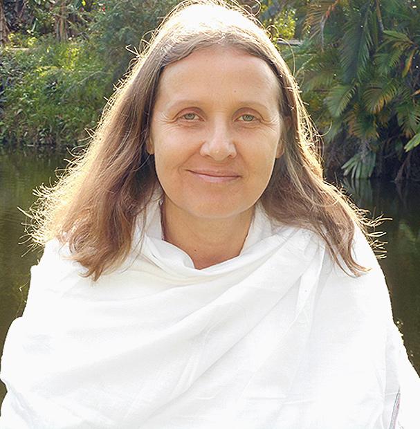 Portrait de Yogacharya Claudia Cremers Kriya Yoga
