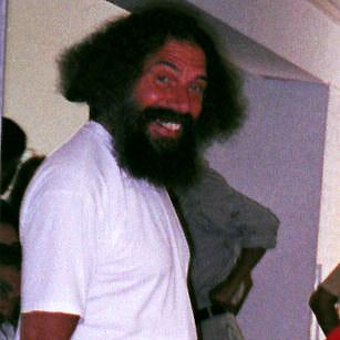 Peter Baba souriant au stage de Kriya Yoga à Sterksel en 2003