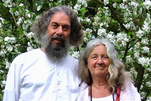 Rajarshi Peter Baba et sa femme Sylvia