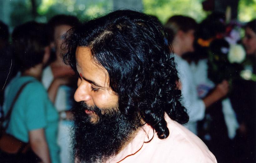 Paramahamsa Prajnanananda au programme de Kriya de juin 2004