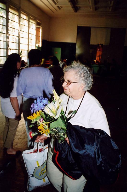 Gabi au programme de Kriya de juin 2004