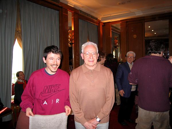 Robert au programme de Kriya Yoga de Paris en mars 2006
