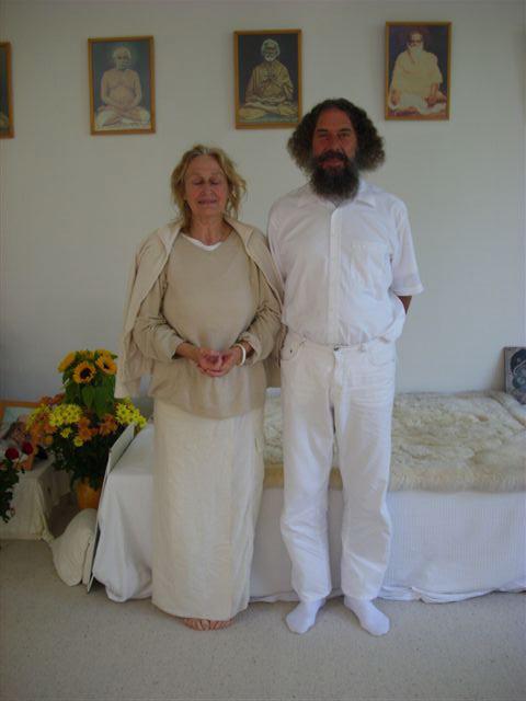 Yogacharia Peter Baba à Sterksel stage kriya yoga d'été d'Août 2008