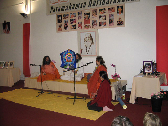 Centenaire de Paramahamsa Hariharananda en mars 2007
