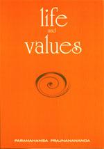 Couverture du livre Life values de Paramahamsa Prajnananada