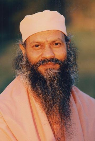 Swami Brahmananda Giri paisible