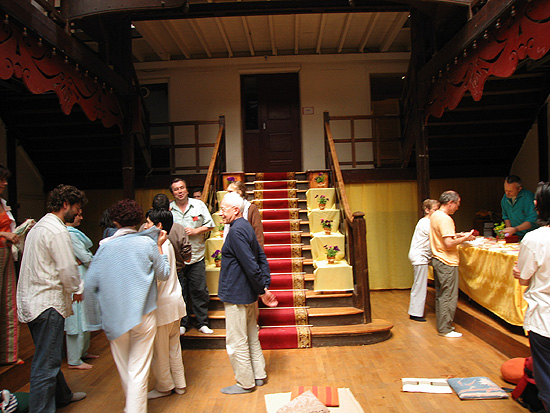 salle du programme de Kriya Yoga de Paris en juin 2005