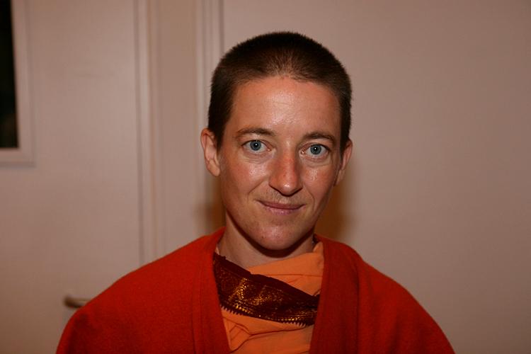 Swami Mangalananda Giri au programme kriya yoga de Paris en janvier 2009