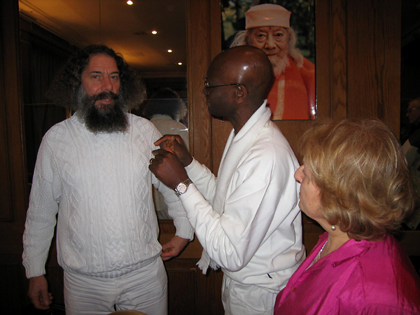 Peter Baba et Eugene au programme de Kriya Yoga de Paris en mars 2006