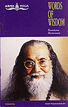 couverture du livre Words of wisdom de Paramahamsa Hariharananda
