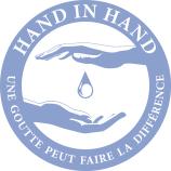 logo Hand in Hand France - Une goute peut faire la différence