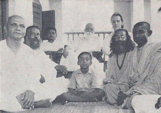 Sanyal Mahasaya and Hariharananda