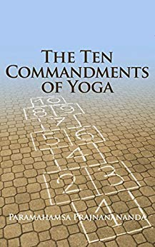 Cover from book The Ten Commandments of Yoga from Paramahamsa Prajnanananda
