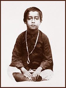Yogananda enfant