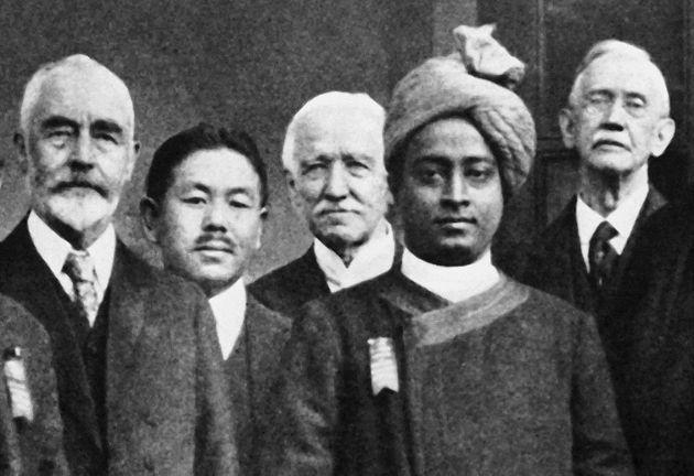 Yogananda en Amerique au Congrès international des libéraux religieux, octobre 1920, Boston USA