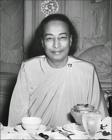 Paramahamsa Yogananda avant son dernier discours