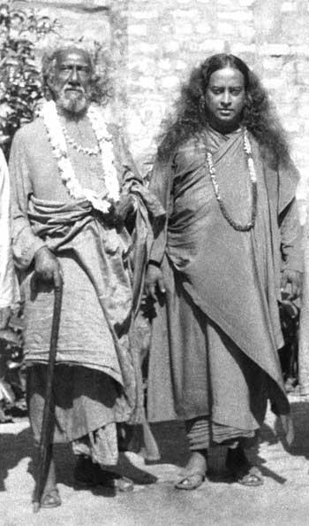Yogananda et Sri Yuktehswar