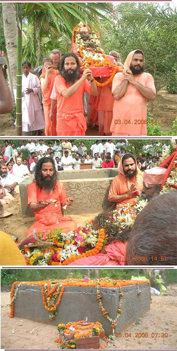 Hommage à Swami Brahmananda