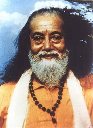Baba Hariharananda heureux