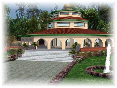 Hariharananda Samadhi Temple 3D
