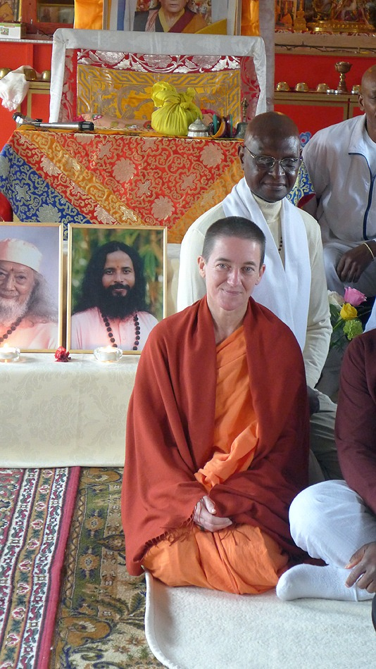 Swami Mangalananda Giri au programme de Kriya Yoga de Chelles en janvier 2016