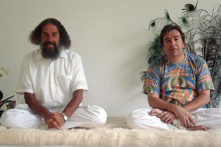 Peter Baba et Christian