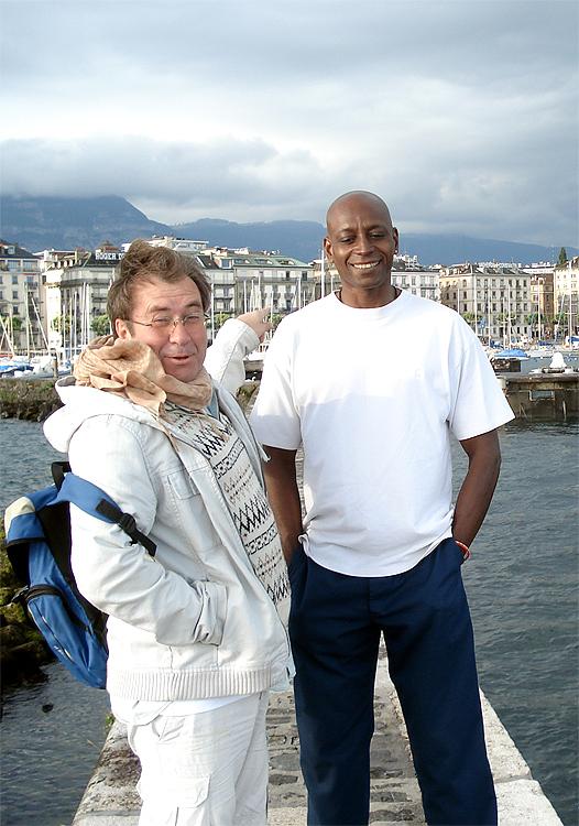 Christian avec Francis